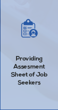 providing assesment for job seekers