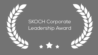 SKOCH corporate leadership award