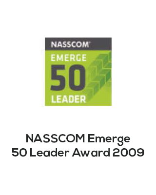 Nasscom emerge 50 leader award