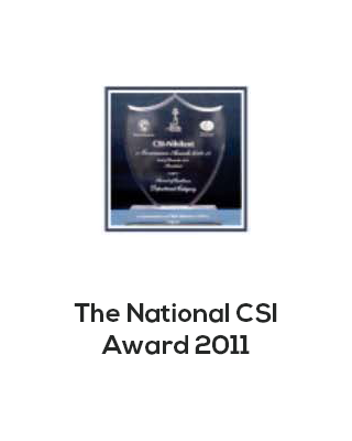 National CSI award 2011