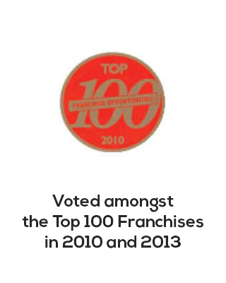Voted amongst top 100 franchises