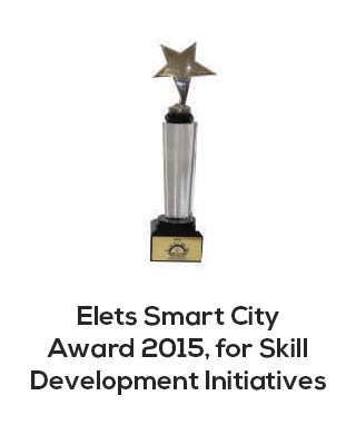 Elets smart city award 2015 for skill developement initiatives