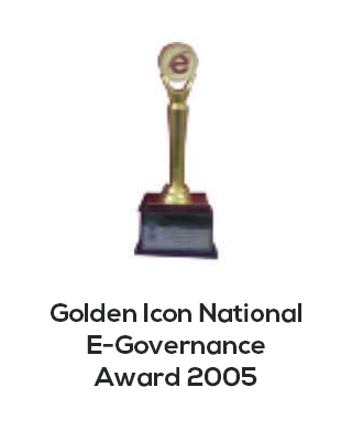 Golden icon national E-governance award 2005