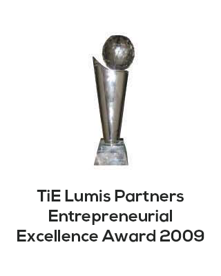 TiE lumis partners entrepreneurial excellence award
