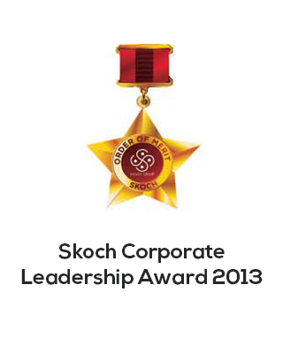 Scotch Corporate leadership award 2013
