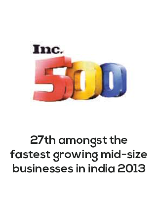 Amongst the fastest growing mid size business in india