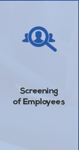 Screening of employees