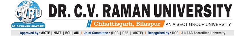 DR. CV raman university chhattisgarh